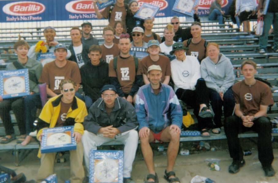 Mohawks at Paga 99